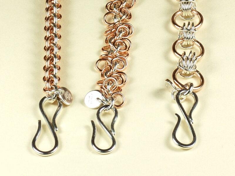 Rose Gold-filled & Sterling Silver